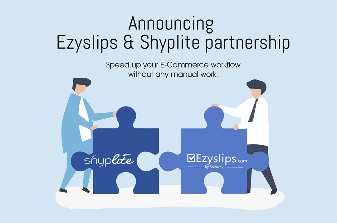 Speed-up your E-Commerce workflow with Ezyslips & Shyplite Integration