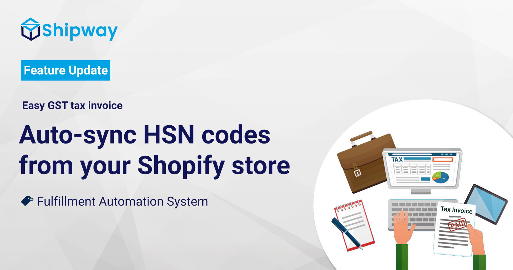Auto-sync HSN codes from your Shopify store