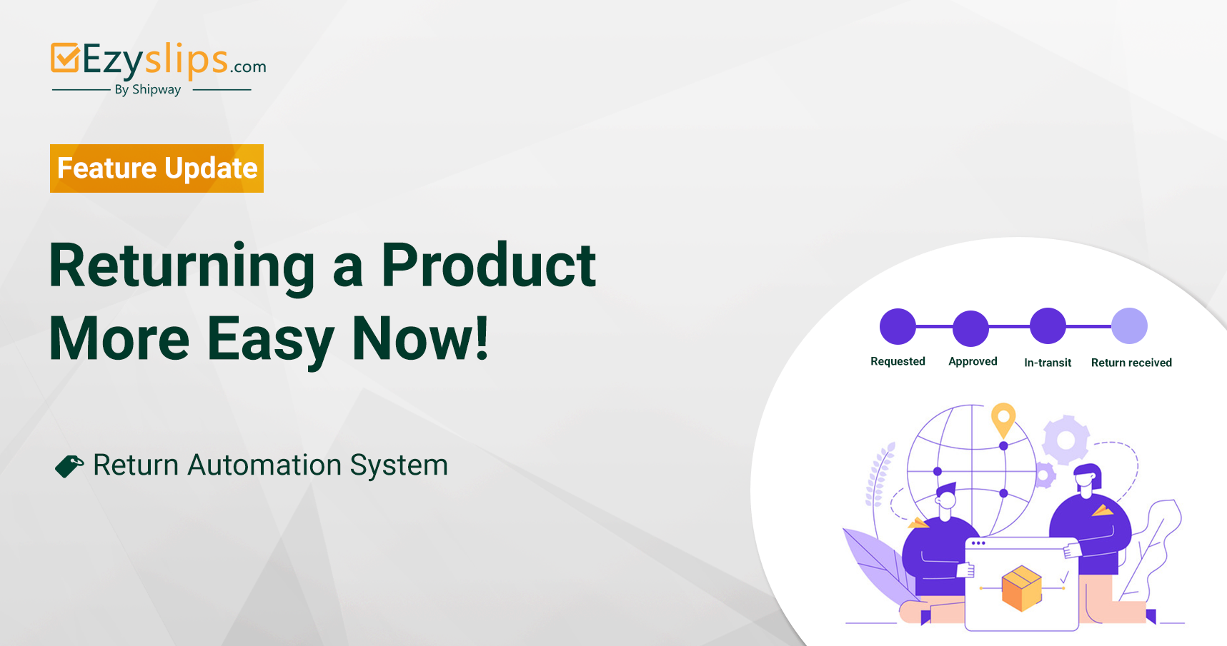 Returning a Product is More Easy Now!